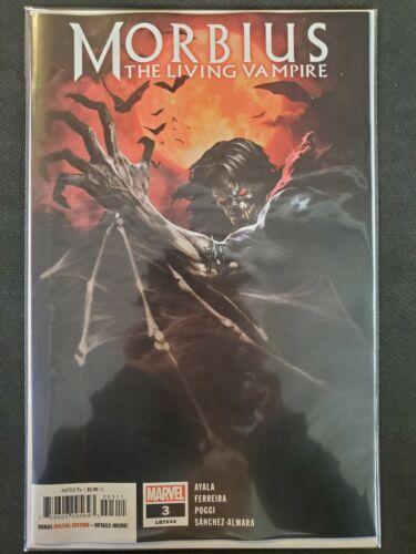 Morbius the Living Vampire #3 Marvel VF//NM Comics Book