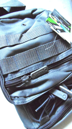 Tactical Messenger Sling Shoulder Bag Molle Straps Multi Pocket Military School