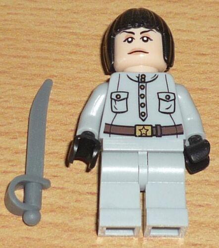 Lego Indiana Jones Figur Irina Spalko mit Säbel LEGO Minifiguren LEGO Bau- & Konstruktionsspielzeug
