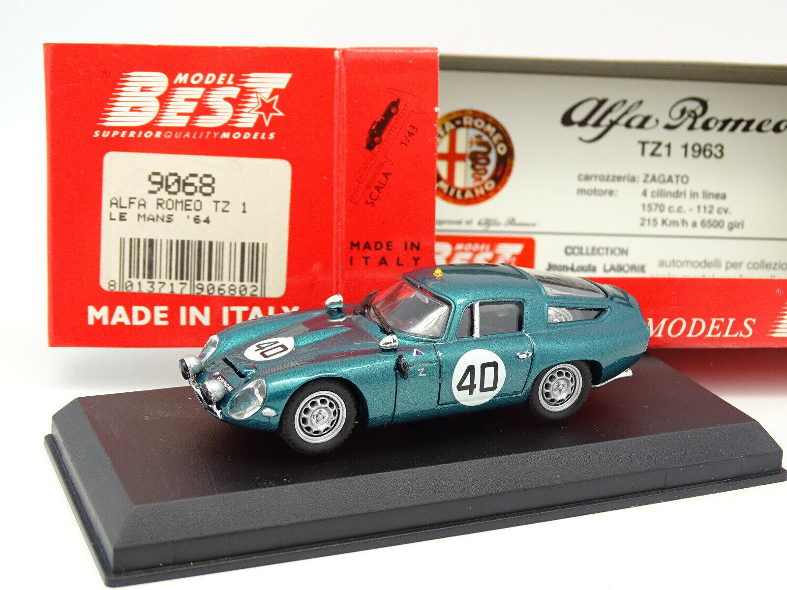 el precio más bajo Best Best Best 1 43 - Alfa Romeo TZ1 Le Mans 1964  Con 100% de calidad y servicio de% 100.