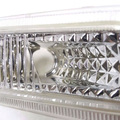 For 06-09 Mercedes-Benz W209 CLK350 Euro Chrome Clear Front Side Marker Lights