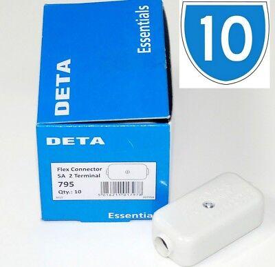 10x 5a Inline Connector Block Box Terminal Junction Cable Electrical Joiner 6a Um Zu Helfen, Fettiges Essen Zu Verdauen