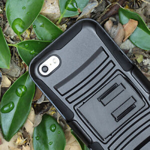 For-Apple-iPhone-SE-5S-5-Rugged-Hybrid-Armor-Shockproof-Belt-Clip-Holster-Case