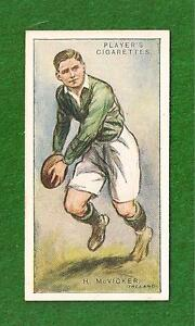 HUGH McVICKER  Richmond RFC IRELAND INTERNATIONAL 1928 original print card - Mawdesley, Lancashire, United Kingdom - Returns accepted Most purchases from business sellers are protected by the Consumer Contract Regulations 2013 which give you the right to cancel the purchase within 14 days after the day you receive the item. Find o - Mawdesley, Lancashire, United Kingdom