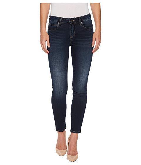 Kut By Kloth Jeans Diana Kurvy Womans Sz 16 Denim Ankle Pants Skinny Dark color