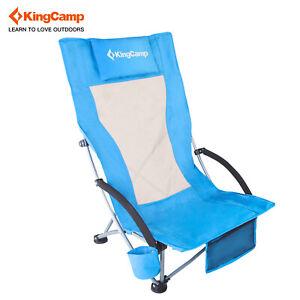 Surprising Details About Kingcamp Light Low Sling Beach Folding Chair Camping Reclining High Mesh Back Short Links Chair Design For Home Short Linksinfo