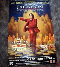 MEGA-Poster 152x101 cm MICHAEL JACKSON HIStory Tour London Wembley promo UK live