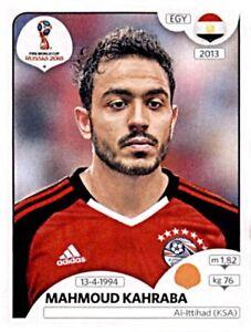 Panini-Fifa-World-Cup-2018-Russia-Sticker-84-Mahmoud-Kahraba-Agypten-Egypt
