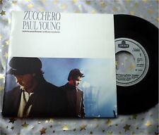 ZUCCHERO & PAUL YOUNG - Senza una Donna / Mama * 1991 F * TOP SINGLE (M-:))