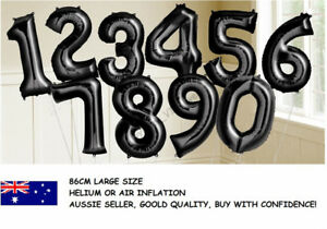 LARGE-BLACK-FOIL-NUMBER-BALLOON-86CM-BIRTHDAY-PARTY-HELIUM-1ST-18TH-21ST-30TH-40