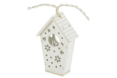 Lyyt Batterie DEL Propulsé String Lights 10 Pièce Étoile Ballon Coeur Maison D/'oiseau cage