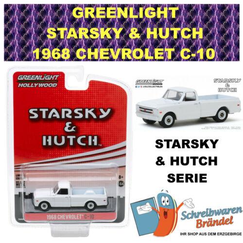 DIECAST 1:64 #44855 Greenlight Hollywood STARSKY /& HUTCH 1968 CHEVROLET C-10