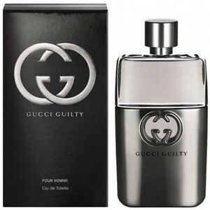Gucci-Guilty-Pour-Homme-by-Gucci-5-0-oz-EDT-Cologne-for-Men-New-In-Box