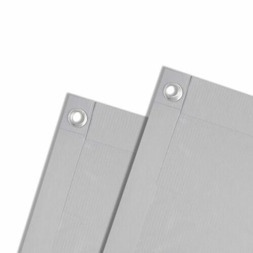 PVC Balkonsichtschutz Balkonbespannung Balkon Sichtschutz Windschutz Markise