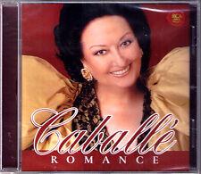 Montserrat Caballe: Romance Casta Diva paraules D 'amor Maximiliano de la luna cd NUOVO