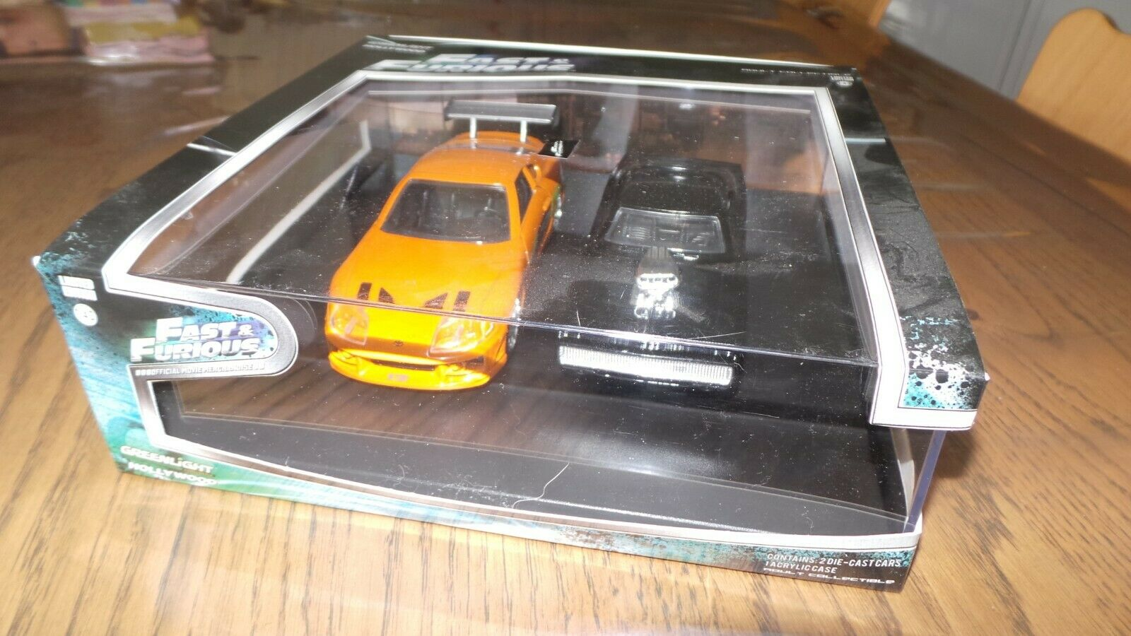 Coffret Grünlight hollywood fast & furious 1 43 Dom's Charger And Brian's