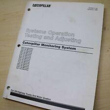 Caterpillar Truck Grader Monitoring System Cms Repair Shop Service Manual Guide