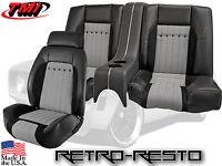 1969 Camaro - Sport R Houndstooth W Sport Ii Rear Seat W Console Kit