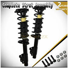 New 2pcs Rear Left+Right Quick Complete Strut Shock Coil Spring Assembly Kit L+R