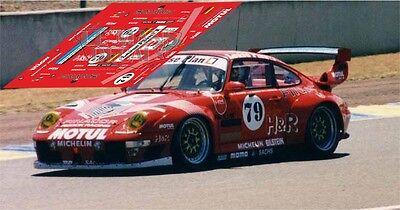 Calcas BMW M3 GT2 Le Mans 2010 79 1:32 1:24 1:43 1:18 slot decals