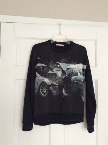 Top Kane Christopher Xs Oversized Sweatshirt Zwart Maat 2EH9ID