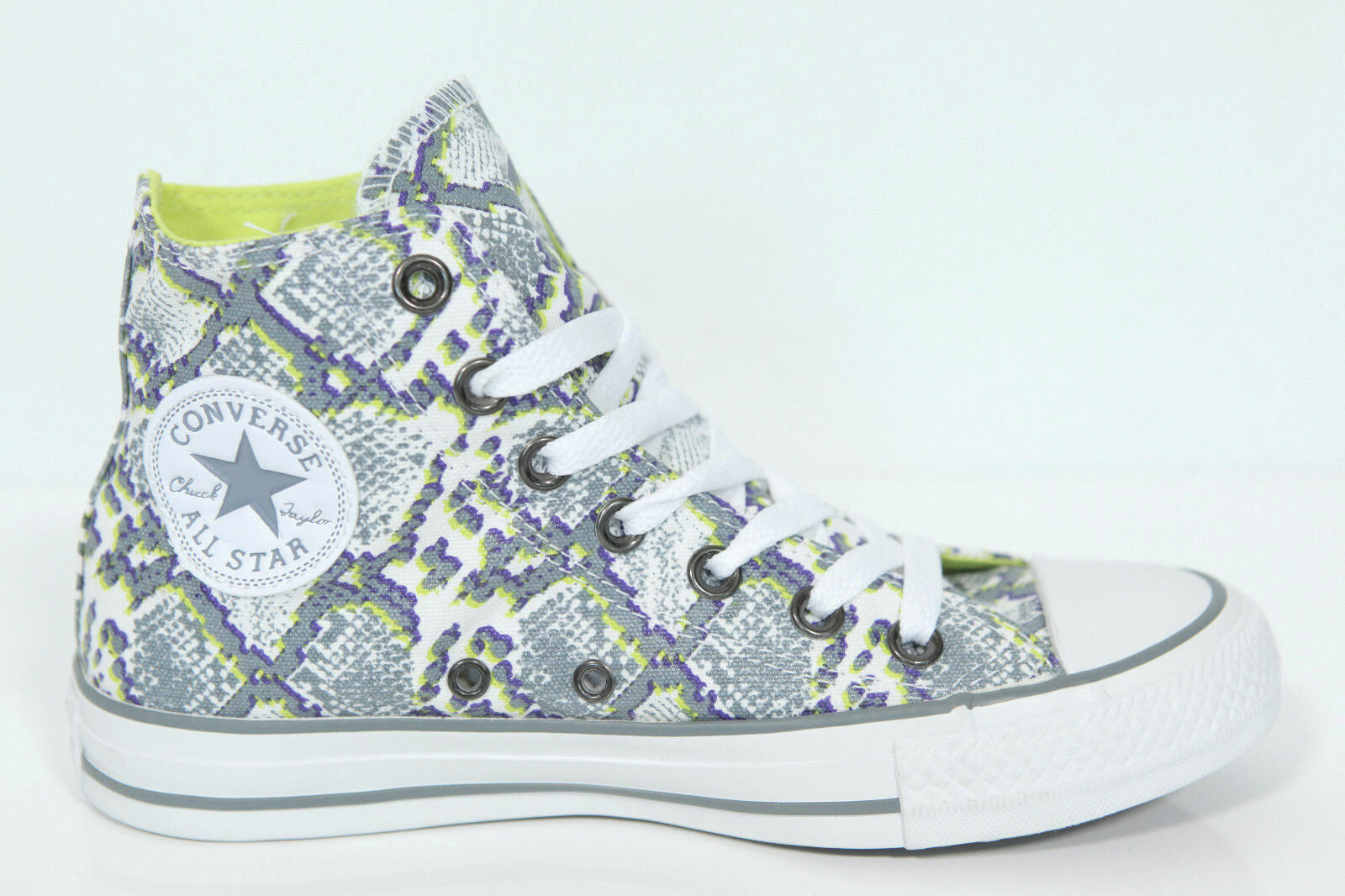 Neu All Star Converse Chucks Hi Sneaker SCHLANGENLEDER OPTIK Multi Panel 542479c