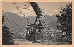 Cartolina-Postcard-Bolzano-Cabina-teleferica-1941