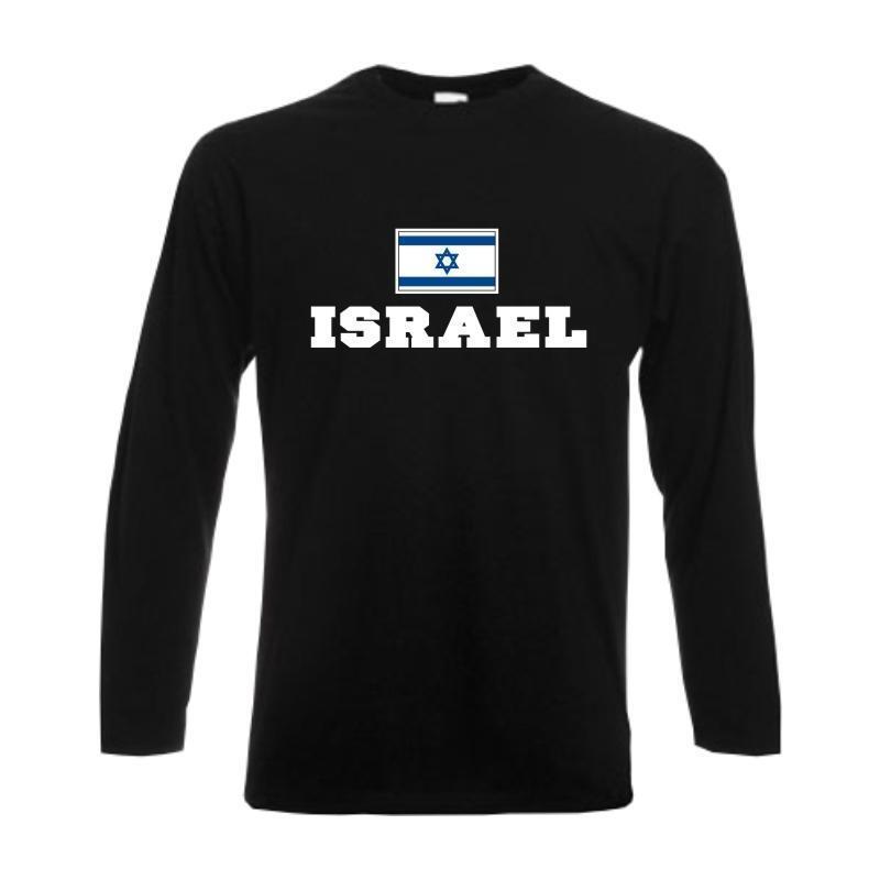 Longsleeve ISRAEL, Flagshirt, Fanshirt langarm T-Shirt S-6XL (WMS02-28b)   | Um Zuerst Unter ähnlichen Produkten Rang  | Online Outlet Store  | Ausgezeichnete Leistung