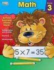 Math Workbook, Grade 3 by Brighter Child (Paperback / softback, 2015)
