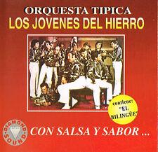Orquesta Tipica Los Jovenes Del Hierro Con Salsa Y Sabor El Bilingue CD ST