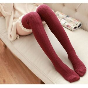 8a474ed4b61 Girls Ladies High Over The Knee Sock Twist Lace Over Knee Long ...