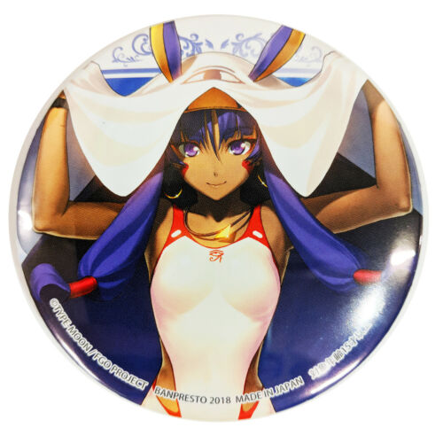 Character Can Badge Pin Fate Grand Order Assassin Nitocris Summer Swimsuit Ver
