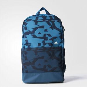 79f18b3eece88 Das Bild wird geladen Adidas-Classic-Sport-Rucksack-Tasche-Schultasche- Fussball-Freizeit-