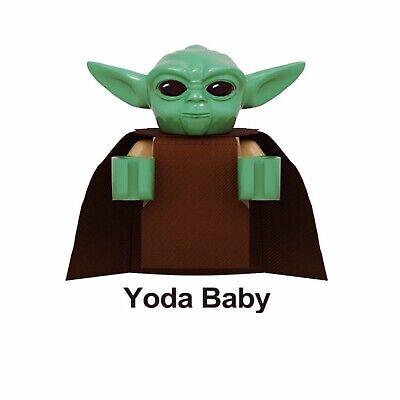 Baby Yoda The Child Mandalorian Lego Theme Star Wars Set Ebay