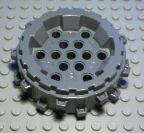 Lego roue 8x8 Spike New Gris Foncé 1901