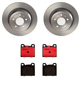 Brembo Rear Left or Right 295mm Soild Disc Brake Rotor For Volvo C70 S70 850 V70