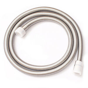 1.5M/60inch brushed nickel Extra Long Stainless Steel Handheld Shower Hose