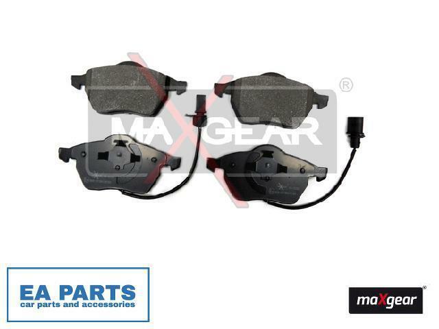 Brake Pad Set, disc brake for AUDI VW MAXGEAR 19-0660