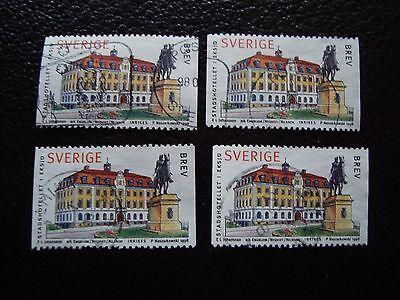 Aromatischer Geschmack Briefmarke Yvert Und N Tellier° 2025 X4 Gestempelt Kenntnisreich Suede a29 Sweden t