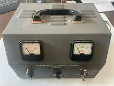 Vintage Eico Model 1060 Low Ripple Battery Eliminator And Charger With Manual