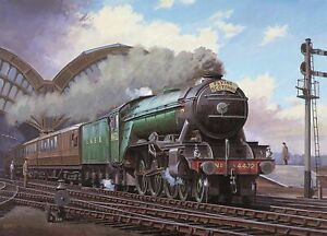 Flying-Scotsman-PICTURE-CANVAS-WALL-ART-20-034-X30-034