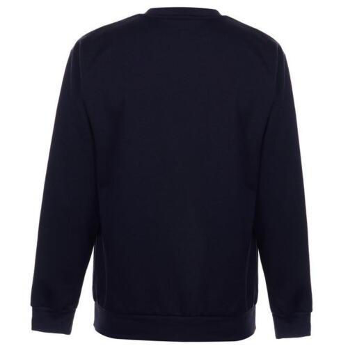 ✅ SLAZENGER Herren Rundhals Pullover Sweatshirt Fleece Arbeitspullover Blau