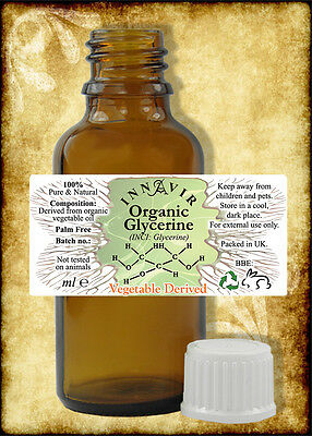 Vegetable Derived Pure Organic Glycerine 50ml