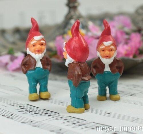"""German Imports Gnomes Cute! 2/"""" Mini Dwarf"""