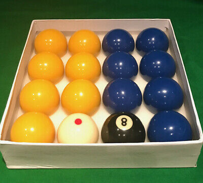 1 INCH 7//8 SPOTTED WHITE BALL FOR POOL. UK STANDARD SIZE