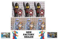 Lego Kingdom Castle Chess Knight 6 Minifig Lot Lord Vladek 5998 Army Jayko 5999