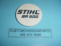 Stihl Blower Br500 Name Tag -------- Box253