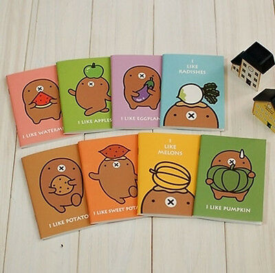 Notebook Cute Mole Printing Palm Size