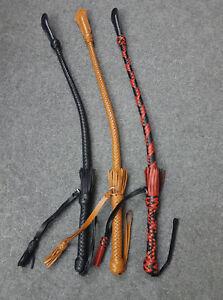 Handmade Bull Whip Premium Quality Cowhide LeatherRussian Nagiak Cossack Style