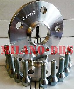 2 DISTANZIALI RUOTA 12mm MERCEDES CLASSE C W205 Bullone CONICO